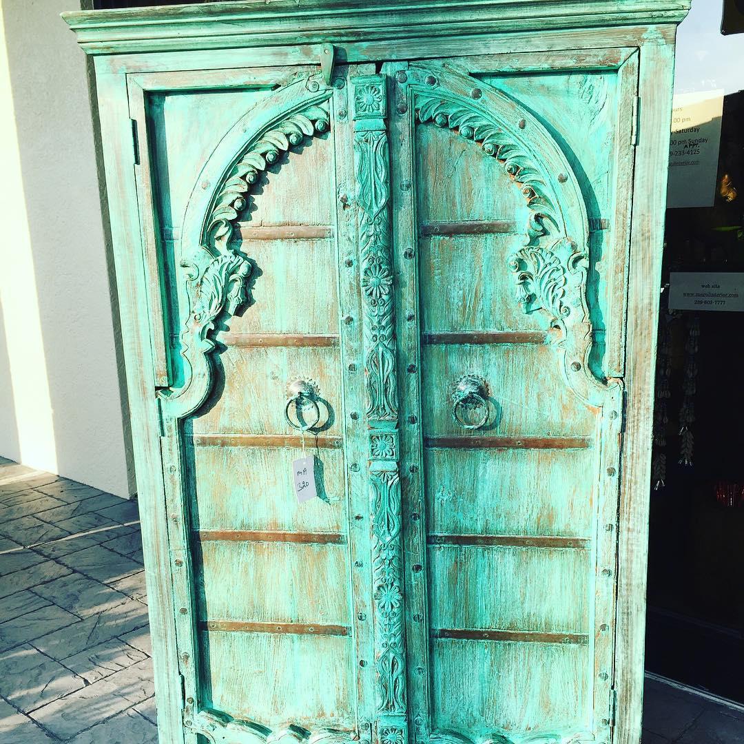 Antique Vintage Armoire Home Decor